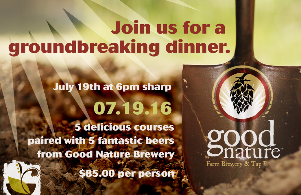Beer Pairing with Good Nature Brewing